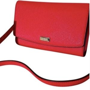 NWT Kate Spade Addison Laurel Way Chili Crossbod